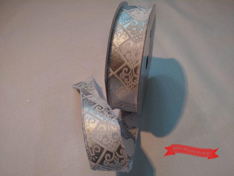 Panglică decorativă 2,5cm x 7y -