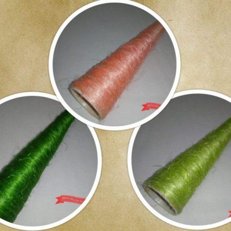 Cornet pentru buchet cu sisal 50 x 5cm