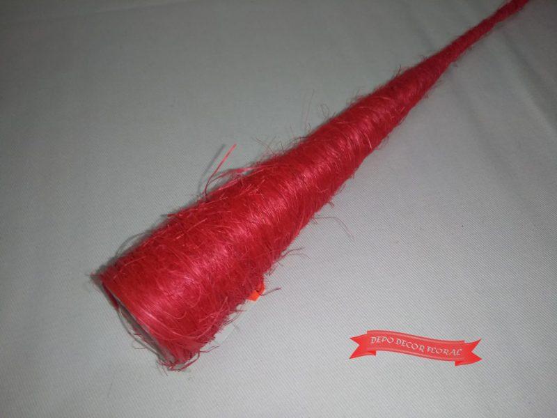 Cornet pentru buchet cu sisal 40x 3.5cm -