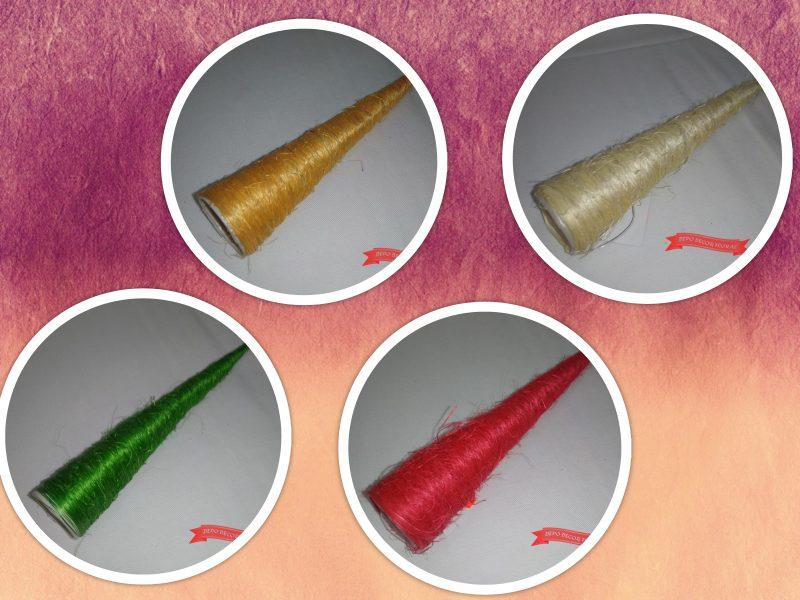 Cornet pentru buchet cu sisal 40x 3.5cm