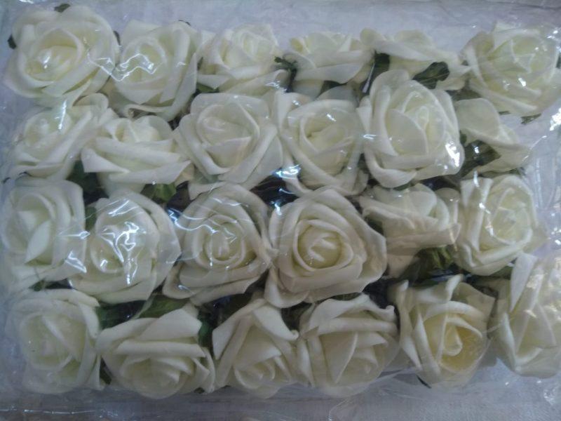 Capete de flori polifoam D5cm -