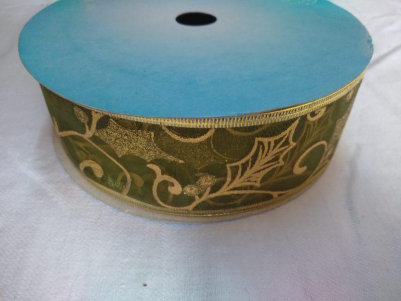 Panglică decorativă 4cm x 10cm -