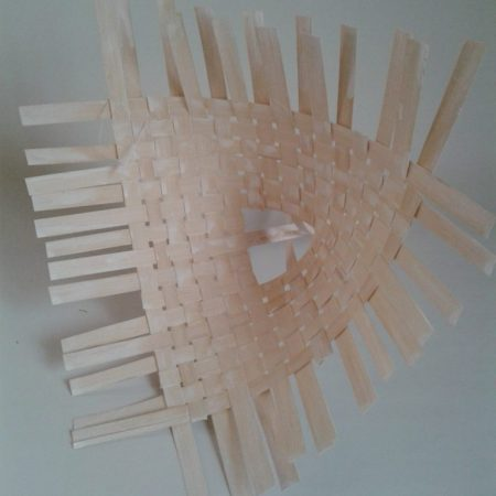 Suport buchet din bambus 1 buc