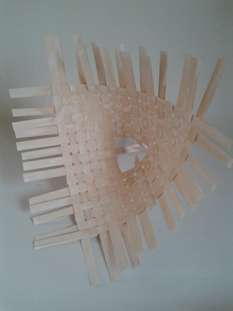 Suport buchet din bambus -