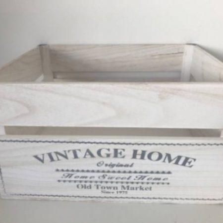Cutie lemn antic-vintage