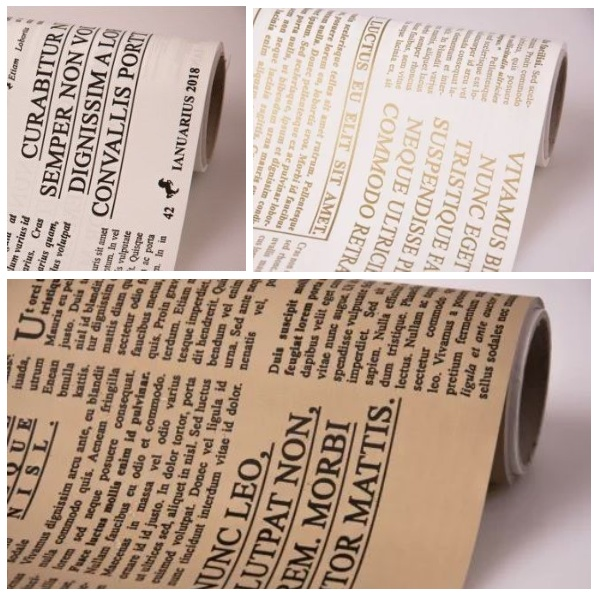 Folie model ziar -
