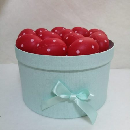 Set oua rosii 5x6cm