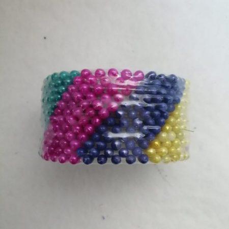 Ac cu perle colorate 8.5×4.5cm