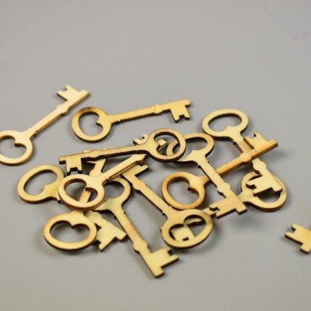 Decoratiuni cheie lemn 4.3 cm