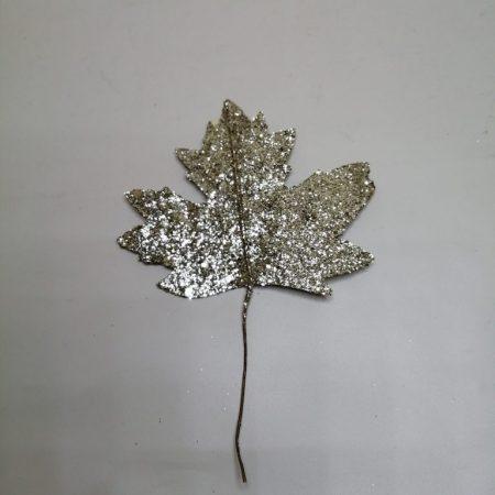 Frunza cu glitter