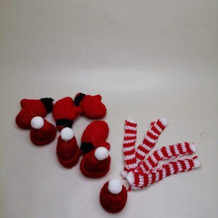Decoratiuni mini set iarna