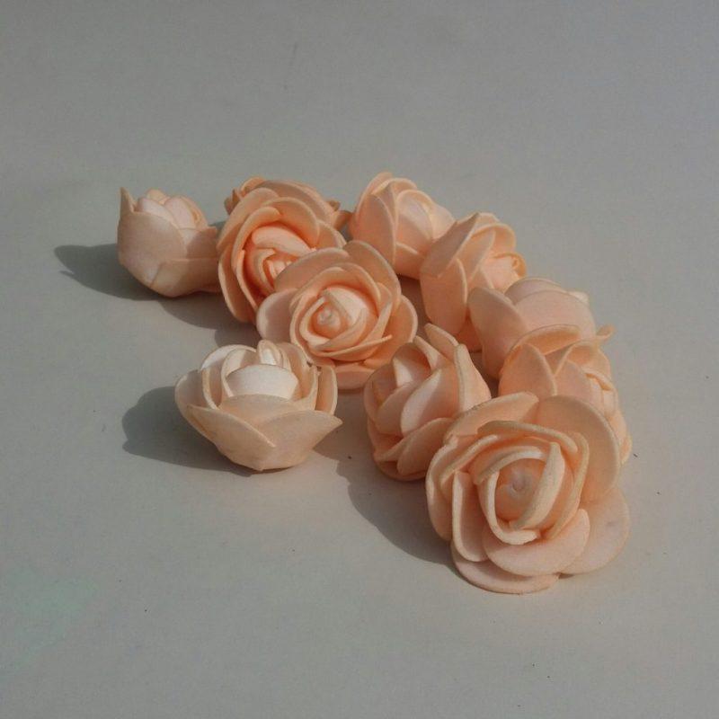 Capete de trandafir 3cm -