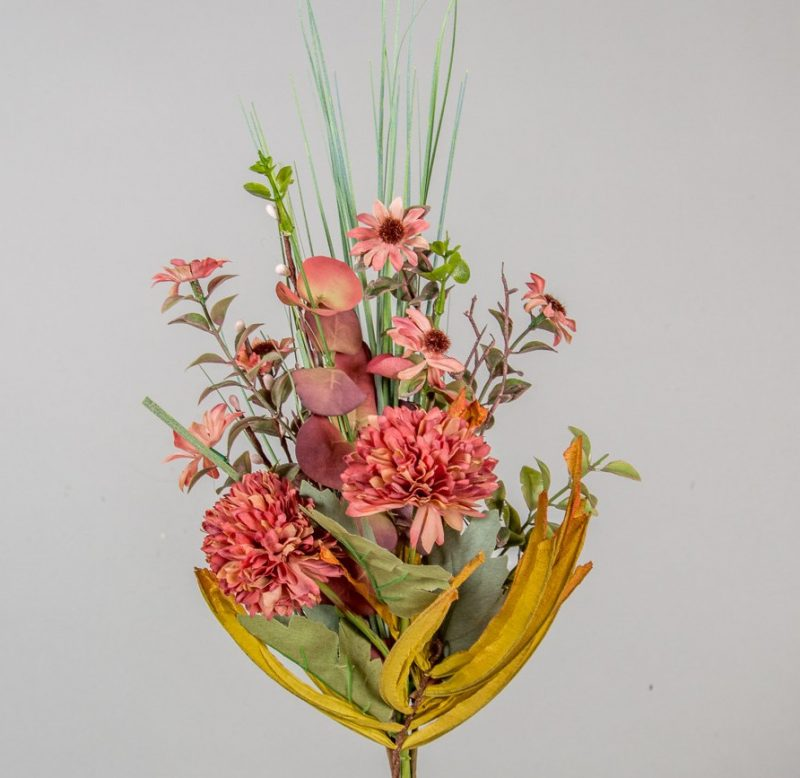 Buchet flori salbatice de toamna 47cm