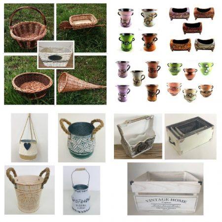Cosuri, cutii, vase si ghivece