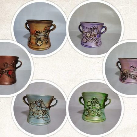 Vase ceramica IV 1buc