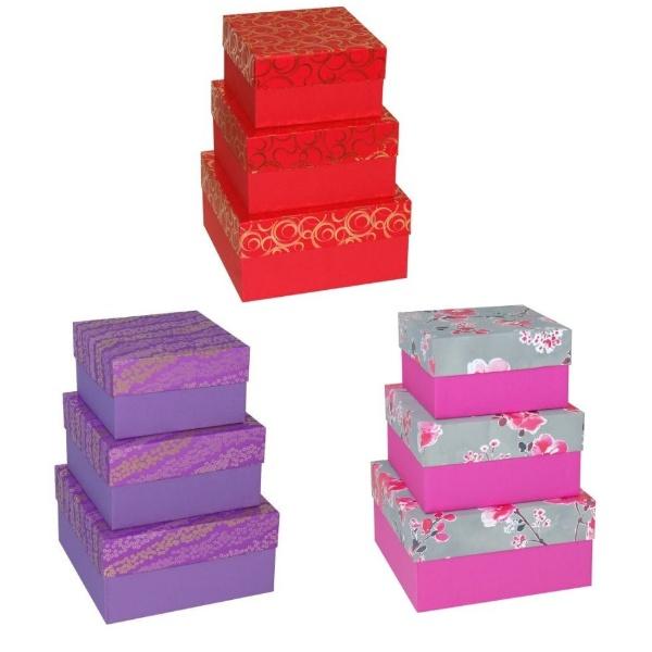 Set 3 cutii Toreto