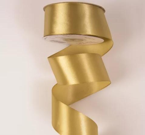 Panglica decorativa saten 38mm x 22.86m -
