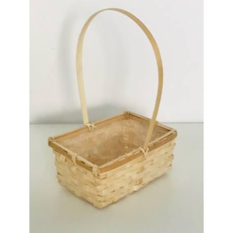 Cosulet bambus cu maner -