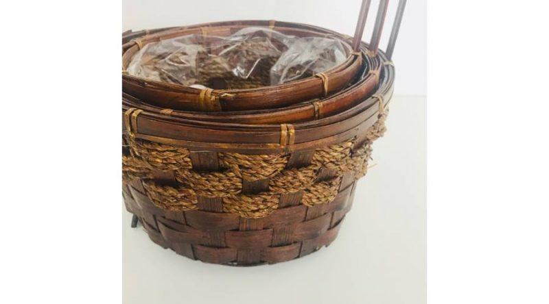 Set 3 cosuri bambus florentin -