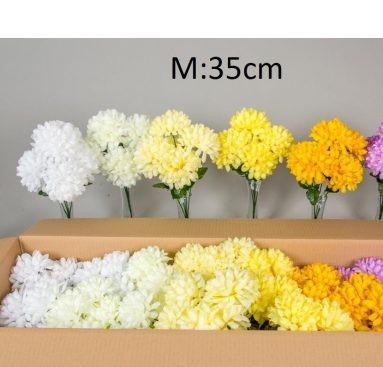 Buchet 5 crizanteme 35 cm