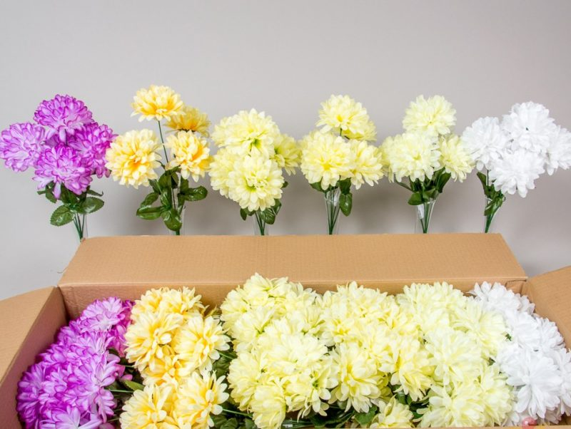 Buchet 5 crizanteme