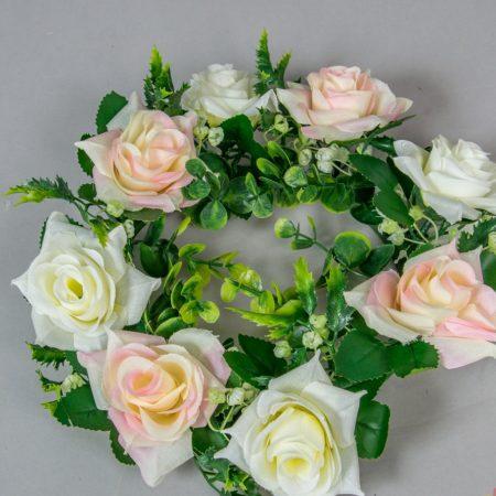 Coronita cu trandafiri 26 cm
