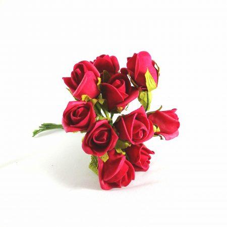 Boboci trandafiri polifoam 3 cm