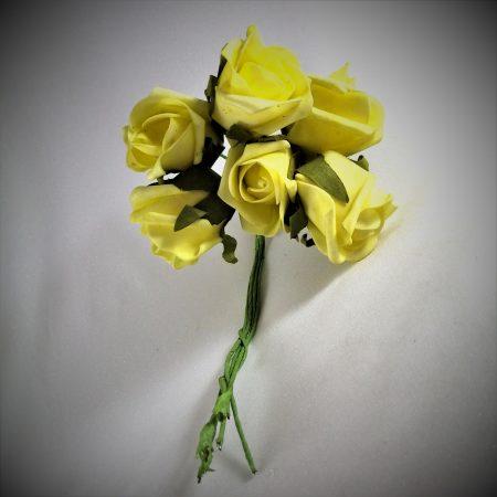 Boboci trandafiri polifoam 4cm