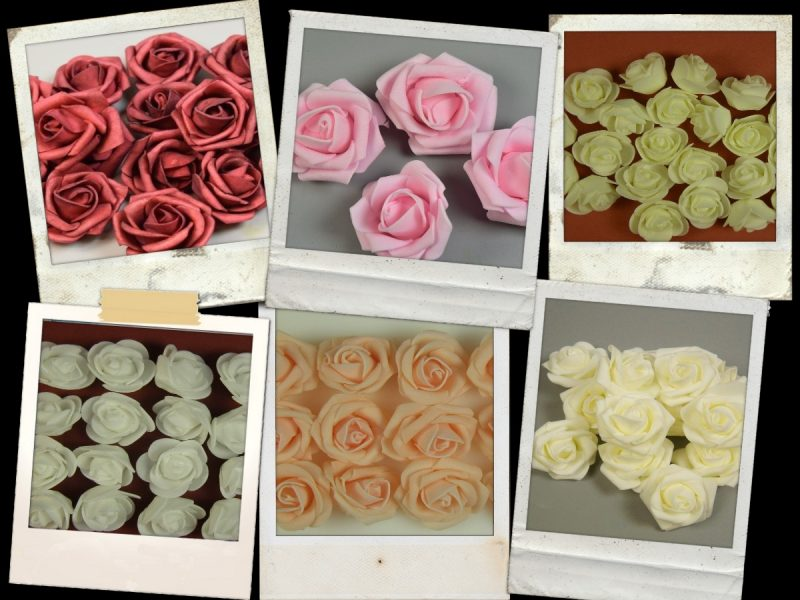 Capete trandafiri polifoam 200 db
