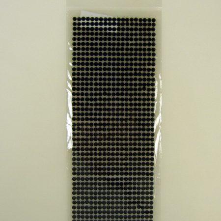 Set 874 Cristale Autoadezive Negru