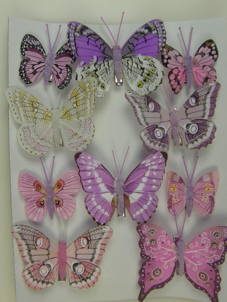 Fluturi cu cleme 5cm