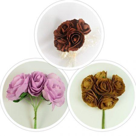 Trandafiri polifoam 7cm