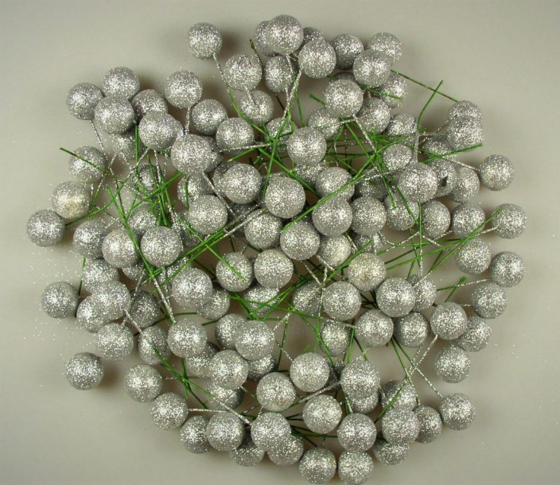 Pick globulete argintiu 220 buc/pachet