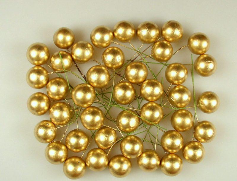 Pick globulete auriu -