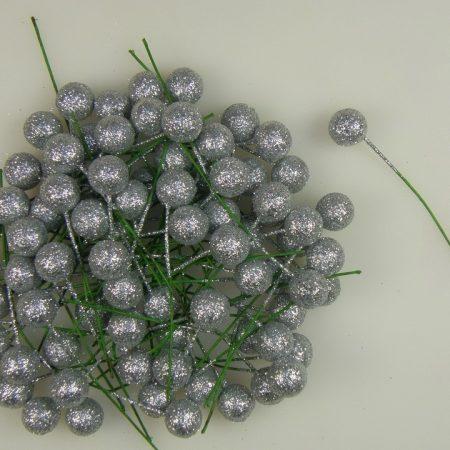 Pick globulete argintiu2