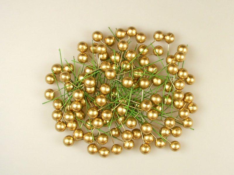 Pick globulete auriu 1,2cm