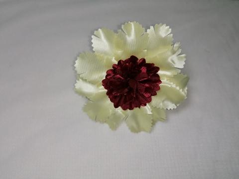"""Capete flori """"astromelia""""10 cm crem/maro"""