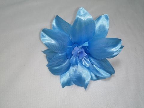 """Capete flori"""" crin"""" 14 cm ,albastru"""