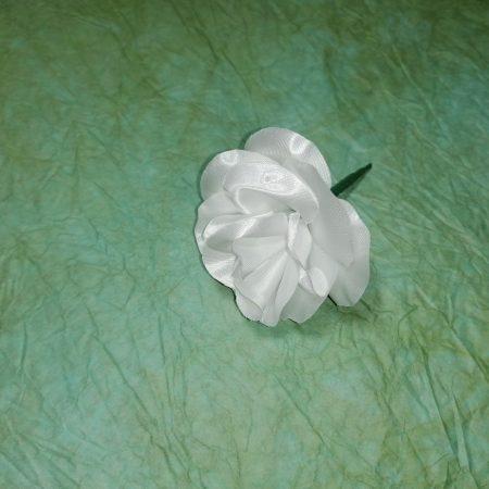 "Capete flori""trandafir mic""alb 7 cm"