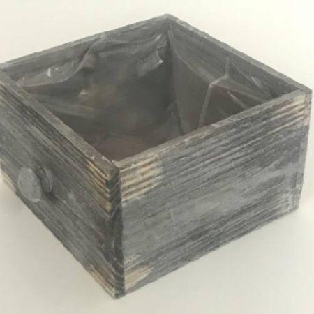 Ghiveci din lemn tip sertar