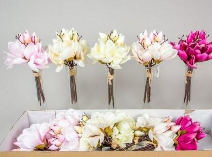 Buchet magnolie 6 flori