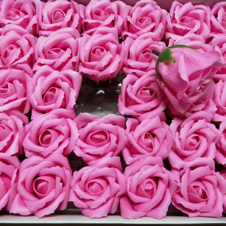 Trandafiri de sapun 5cm roz