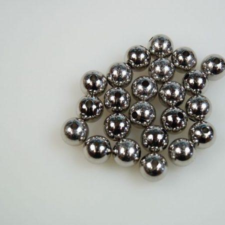 Perle argintii 10 mm