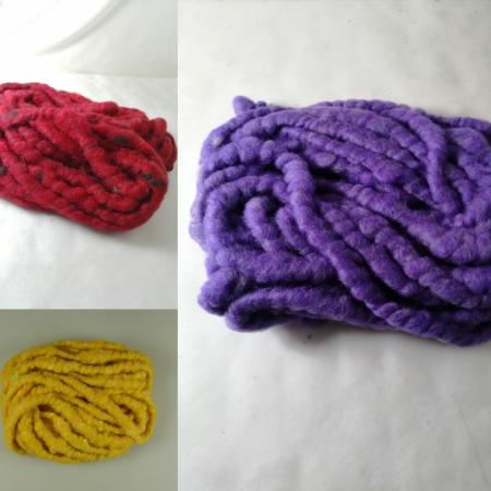 Snur decorativ din lana 15 mm