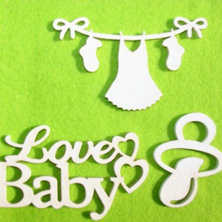 "Pachet figurine ""LoveBaby"" 6-10cm"
