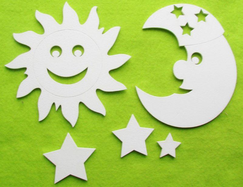"Set figurine""Soare/Luna"" 15 cm"