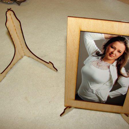 Rama foto cu suport 11×14 cm