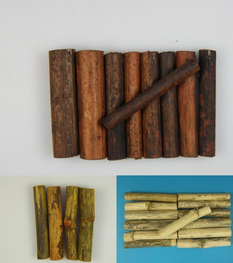 Batute din lemn tip bigudiuri 15 buc