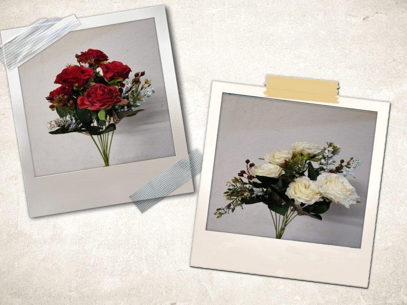 Buchet trandafiri 6 flori mixt