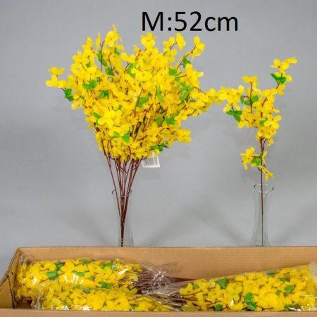 Creanga de salcam galben 52 cm